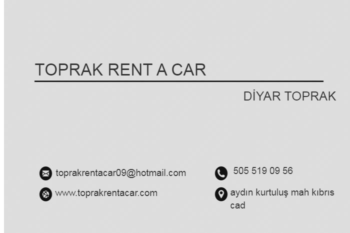 Toprak Rent a Car